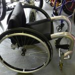 15-CYCLONE-XLR8-ALUMINUM-SPORTEVERYDAY-WHEELCHAIR-NO-REAR-WHEELS-271614205831